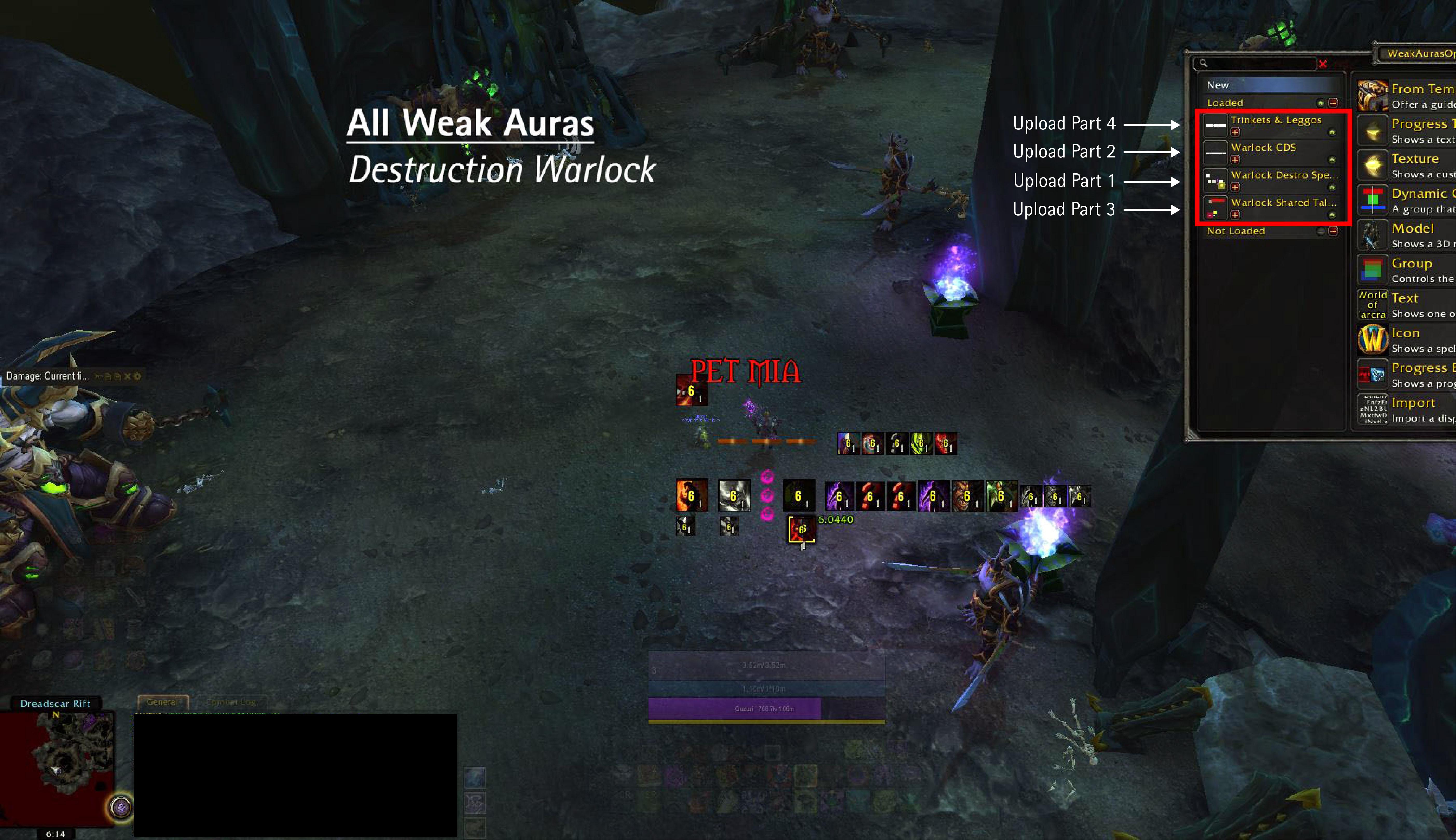 Patch 7 2 Destro Warlock Set - Part 1 of 4: Destruction Spells | Wago io