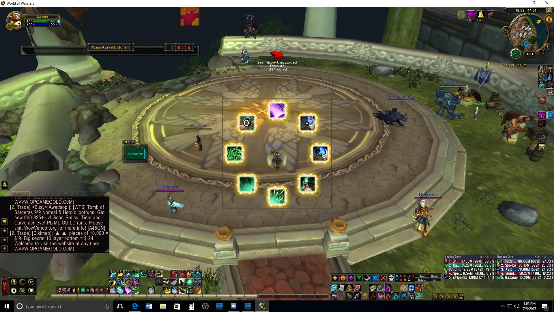 MW icon ability proc