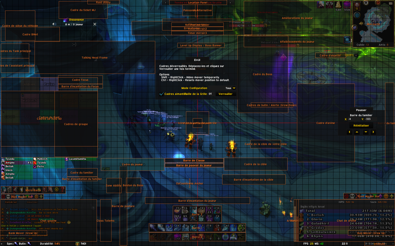 Elvui Shadow And Light: MY Ui 7 3 (DPS/TANK) – Billy Knight
