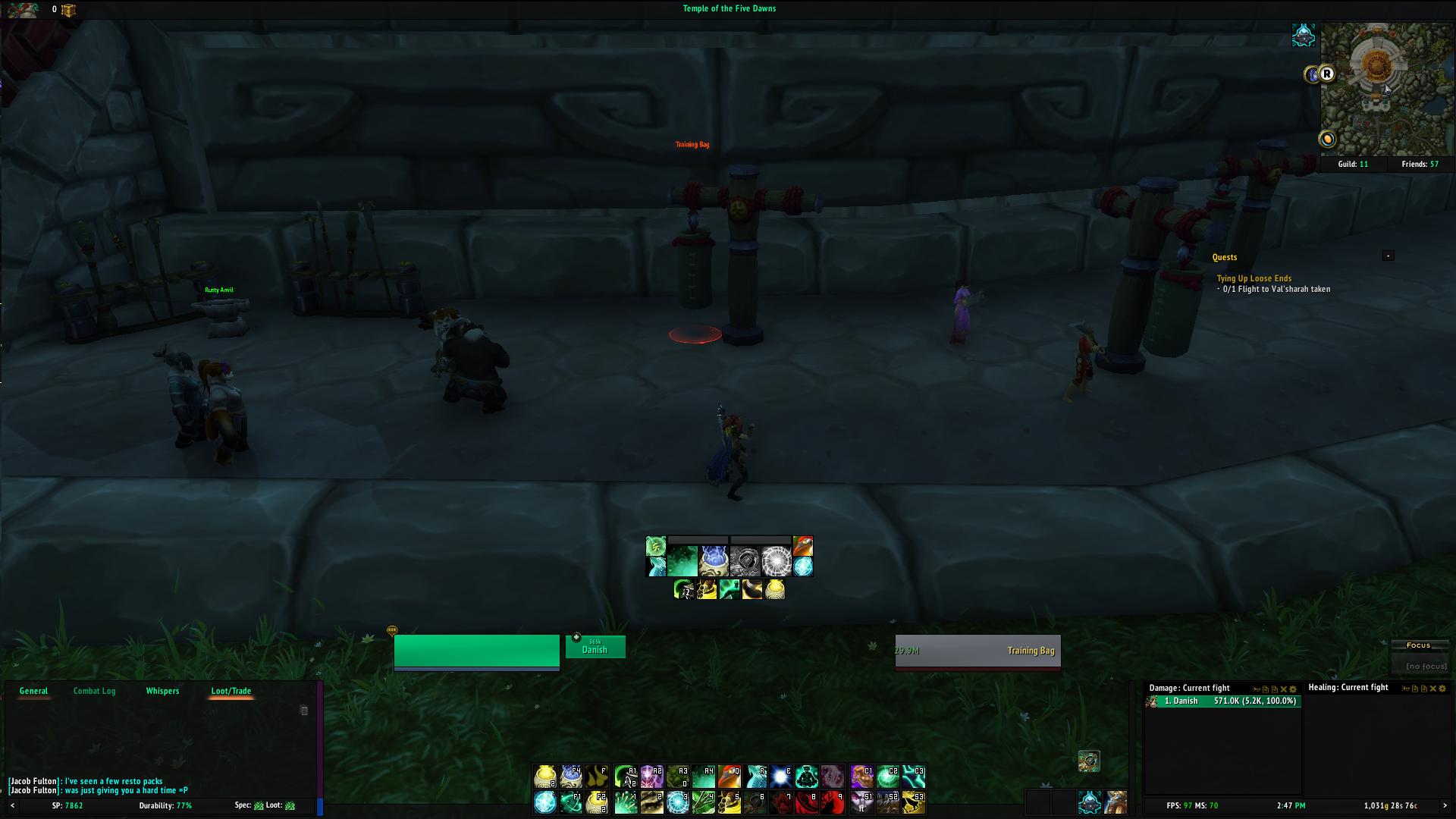 Tal's Mistweaver Monk HUD v1.2 - Legion 7.1